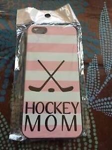 Étui de IPhone 5 (Hockey MOM)