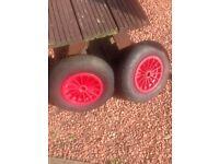 Launching Trolley Wheels
