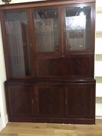 Excellent quality dining cabinet and dining table and chairs