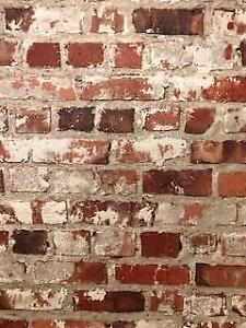 Wallpaper Red Brick Other Home Decor Gumtree Australia Gold