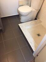 Bathroom Floor - new tiles/sub floor/