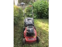 Mountfield HP470 Petrol lawn mower - pushalong with grass collector.
