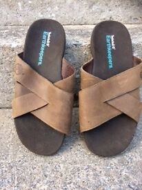 Men's Timberland Earthkeeper Leather Sandals Size 10, worn once, too big for me