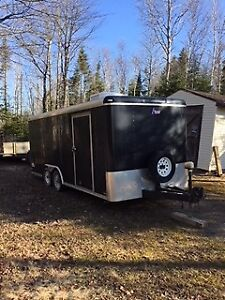 2010 - 18' PACE Enclosed Trailer