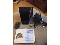 Panasonic iPod / iPhone dock /speaker with remote for sale Twickenham/Richmond/Hounslow