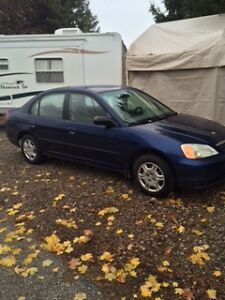 One Owner 2002 Honda Civic