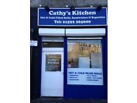 Shop with class 3 hot food to let for rent