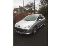 Peugeot 307S - good condition 2007 - 1.4 petrol. New cam belt/cam seal/water pump/rocker cover