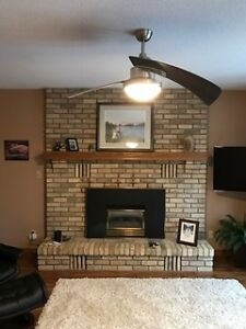 Gas fireplace - Natural Vent Insert