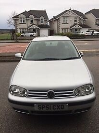 1991 Volkswagen Golf 1.6 manual. Very Low mileage & excellent condition