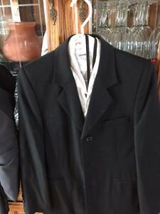 2 boys dress suits, vest, shirt, ties and belts London Ontario image 3