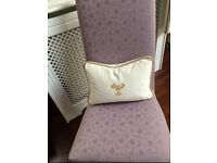 Laura Ashley Dining Chairs (PAIR) in Lilac