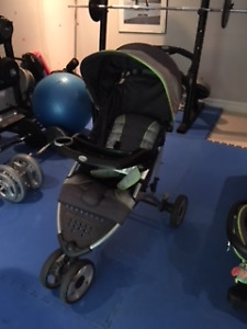 Eddie Bauer Stroller, Carseat and Base (Gender Neutral)