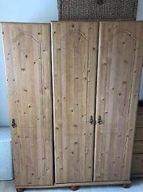 Bedroom Triple Wardrobe for sale