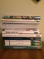 NBCC 1st year Business Administration textbooks