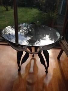 Glass top table McKinnon Glen Eira Area Preview