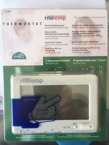Programmable interior thermostat