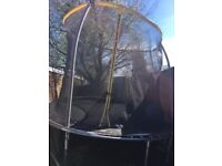 Nearly new - great condition 10ft trampoline