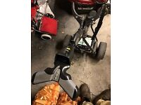 Powekaddy FW 2 - needs axle repair/replacement, battery is 4 months old and includes charger