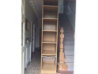 Ikea Pax wardrobe, oak effect 60x60x201cm.