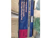 Used Premium Toner Cartridge HE CB543A Magenta colour