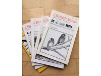 British Birds Magazine - several volumes mainly from the 1980's early 1990's