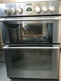 Stoves double oven, under a year old. Perfect working order