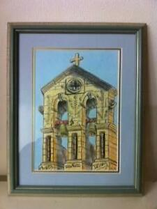 1 Church Tower Bells Tower Scene Picture Framed Matraville Eastern Suburbs Preview