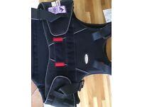 Beta 2009 Level 3 (purple) child's back protector MEDIUM