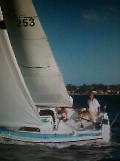 MB24 cruiser with mosman bay mooring & inflatable 4hp dinghy