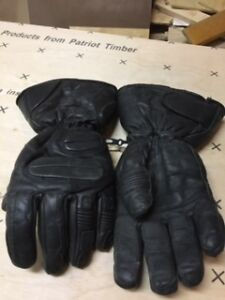 Men's Leather lined gloves