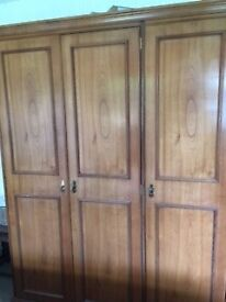 Bedroom furniture wardrobe