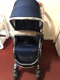 Babystyle Egg Pushchair / Stroller Regal Navy Brand New Unused with Original Packaging