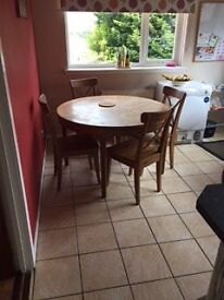 Circular Extendable Kitchen Table