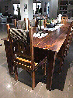 Perfect Samsara In Tweed Heads Region Nsw Dining Tables Gumtree Balinese Samsara 10 Set  Table And Chairs