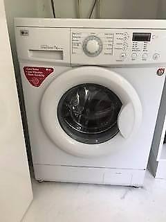 lg 7kg front load direct drive washing machine