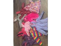4-5 years old girl bundle clothes