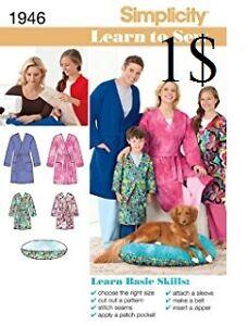 newTeens and Adults Robe Sewing Pattern Kitchener / Waterloo Kitchener Area image 1