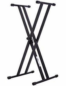 NEUF*NEW Very strong On-Stage Double-X Keyboard Stand