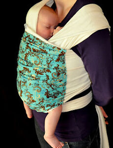Organic Cotton Baby wrap by The Sling Sisters for sale