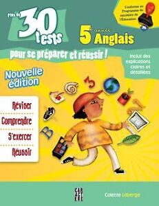 30 Tests 5e primaire anglais