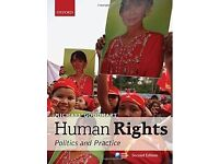 HUMAN RIGHTS: POLITICS & PRACTICE LAW BOOK BY MICHAEL GOODHART; LAW/CRIMINOLOGY DEGREE POLITICS