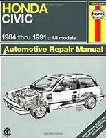 Haynes Repair Manual Honda Civic