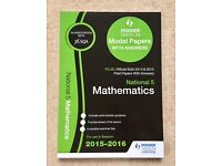 National 5 Maths. 3 separate past papers and exam success books (will sell separately)