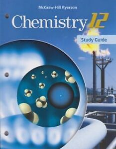 SELLING MCGRAW-HILL RYERSON CHEMISTRY 12 TEXTBOOK