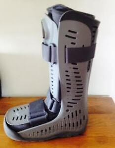 BOOT CAST FOR RIGHT ANKLE