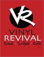 Drum Lessons @ Vinyl Revival Rock School