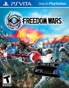 Freedom Wars game for PS Vita