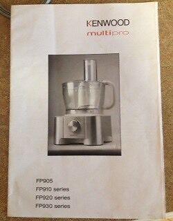 KENWOOD Multipro FP920 food processor/juicer Gwelup Stirling Area Preview