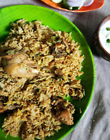 South Indian Chicken Biriyani